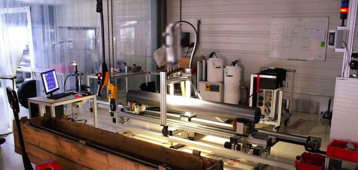 Machine procédé nettoyage