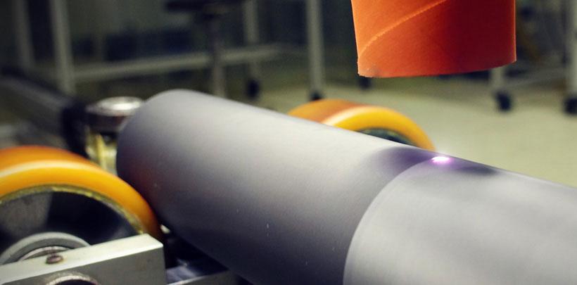 Nettoyage laser gros plan