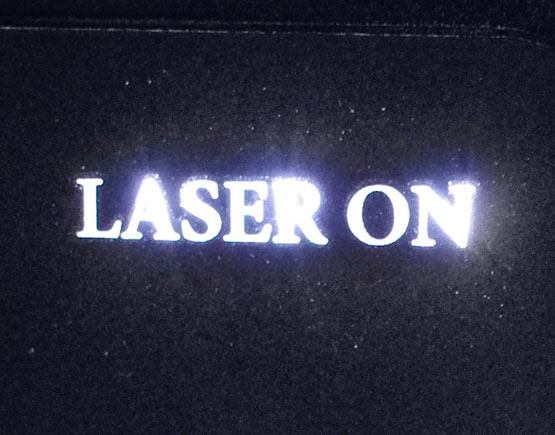 Laser On